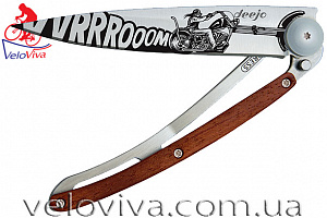 Складной нож Deejo Tattoo Vroom  Rosewood (37g)
